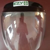 Face Shield bahan polycarbonate, visor kaca bisa dinaik turunkan....Re