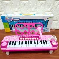 mainan keyboard microphone Piano Anak