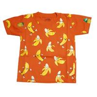 Kaos Stelan Baju Anak Gbr pisang Banana Zaman Now