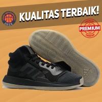 Sepatu Basket Sneakers Adidas Marquee Boost Black Gum Pria Wanita
