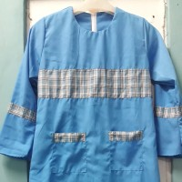 Setelan Seragam Baju Muslim Custom Tk / Paud