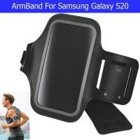 Samsung Galaxy S20 Armband Arm Band Sarung Lengan Lari Jogging Fitness - Hitam