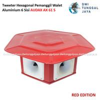 Tweeter Hexagonal Pemanggil Walet Aluminium 6 Sisi AUDAX AX 61S 61 S