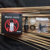 MERLIN NANO MTL RTA 18MM - BY AUGVAPE - ATOMIZER RTA AUTHENTIC