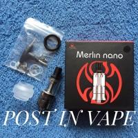 MERLIN NANO MTL RTA 18MM BY AUGVAPE - RTA ATOMIZER AUTHENTIC