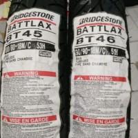 PAKETAN BAN LUAR BATTLAX BRIDGESTONE BT 46 UK 90/90-18 & 100/80-18