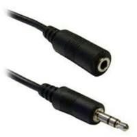 kabel Perpanjangan Aux Audio Jack 3.5mm Male to Female Extension 1.5m