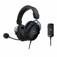 HyperX Cloud Alpha S HX-HSCAS-BL/WW - Gaming Headset (Blue)