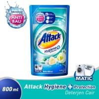 Attack Liquid Hygiene + Protection 800 ml - Deterjen Cair