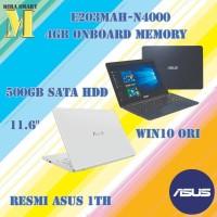 ASUS E203MAH-N4000-RAM 4GB-HDD 500GB-WINDOWS 10 HOME ORI