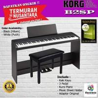 Digital Piano KORG B2SP + Kursi Piano / B2 SP / B2-SP - Garansi Resmi