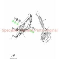 Bearing + Collar Set Arm Almunium Xeon Karbu