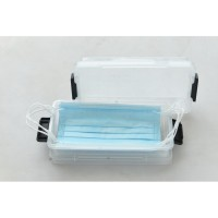 INFORMA - KOTAK PENYIMPANAN - MINI BOX SET OF 2 0.55L TRANSPARENT