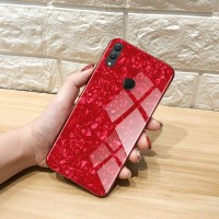 For Huawei Honor Note 10 Case Luxury Tempered Glass Shell Full Hard