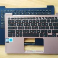 US backlit Laptop Keyboard ASUS Zenbook UX331 Palmrest Upper