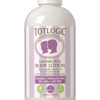 TotLogic Kids and Baby Safe Natural Body Lotion - 8 oz Lavender - Scen