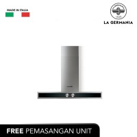 La Germania Tudung Hisap 60 Cm K6G9X, Decorative Wall Hood