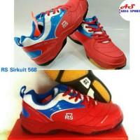 Terlaris ! Sepatu Badminton RS Sirkuit 568 Sepatu Bulutangkis