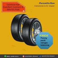 Ban Mobil Continental CC6 205/55 R16 ExPander,Altis (DOT 2019)