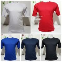 Kaos Polos 100% Katun / Cotton Combed 30s Dewasa Jungkies / Remaja