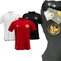 MILLS Garuda Polo Shirt Timnas Indonesia 2020 Baju Kaos Kerah Timnas