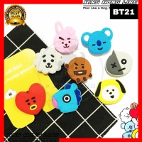 Popsocket 3D BT21 Karakter BTS Korea KPOP Phone Holder Pop Socket