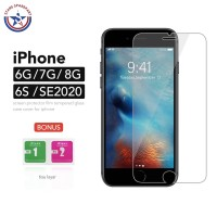 Tempered Glass iPhone 6 6G 6S 7 7G 8 8G SE 2020 Anti Gores 9H Glass