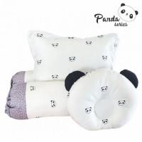 Omiland Bantal Guling Bayi Set Peang Panda Series - OWB 1142