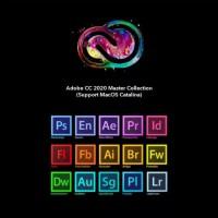Adobe Master CC 2021 1 tahun original annual plan update