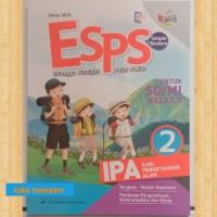 buku paket Esps IPA untuk SD kelas 2 kurikulum 2013 revisi