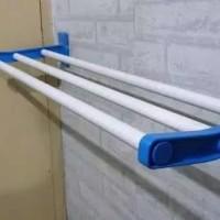 Naga Mas Rak Gantung Handuk / Jemuran Handuk Dinding