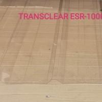 Atap Spandek transparan/clear