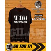 Kaos Baju Nirvana Nevermind Album Band Musik - Gilan Cloth