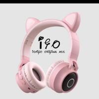 Headset Bando Led Cat Headset Bando Bluetooh