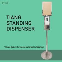Tiang Standing Dispenser dengan Display Advertising