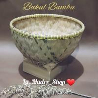 BOBOKO BAKUL BAMBU Alat Cuci Beras /Tempat Nasi ❤ Uk. 30 cm