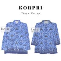 Baju Batik KORPRI (Tanpa Furing) PNS S-XXL