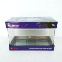 kandila iglass 300 10L aquarium bending auqarium kaca aquascape aquari
