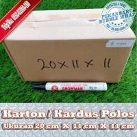 KARDUS BARU POLOS DI PEKANBARU | 20x11x11cm