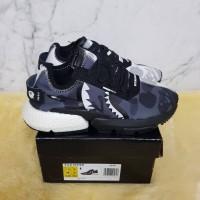 Sepatu Adidas P*D Bape Sneakers For Man Premium Original
