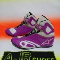 Big Sale Sepatu Drag -Touring Alpinestar K-Pro Hitam Pink Termurah