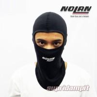 Terpopuler Balaclava Nolan Sarung Kepala Tudung Helm Alas Helm Kupluk
