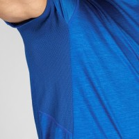 Domyos Baju Dry Fit Fitness Gym Pria Fts120 Biru Decathlon 8549876 - S