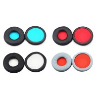 dark* 1Pair Ear Pads Cushion Leather Earpads for ATH-S100iS S100