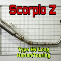Knalpot Racing Yamaha Scorpio Z type H4 by HNR Product
