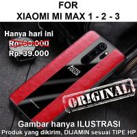 Porsche case Xiaomi Mi Max 1 - 2 - 3 softcase casing hp cover leather - Mi Max 1, Black