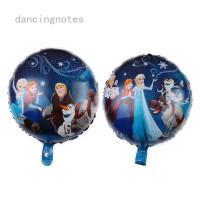 Dekorasi Pesta Ulang Tahun Model Disney Frozen Ukuran 18 Inci
