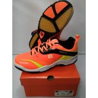 - Sepatu Badminton RS Sirkuit 570 Orange Lemon