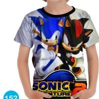 Kaos Sonic the Hedgehog Anak Murah Meriah #152 - No.0 (0-1 thn)