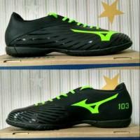 - sepatu futsal mizuno basara 103 in black green